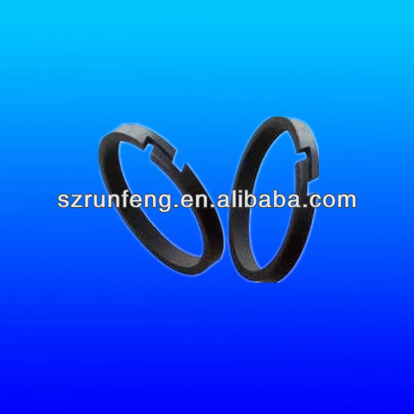 Plastic piston ring