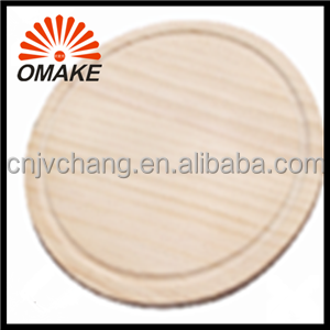 Reasonable Price and High Quality Round Wooden Pizza Serving Pan, Pine Pizza Stone, Pizza Wooden Tray