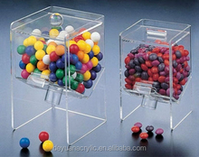 New Design High Transparent Candy Displays Used/Glass Candy Tray/Acrylic Candy Dispenser Box