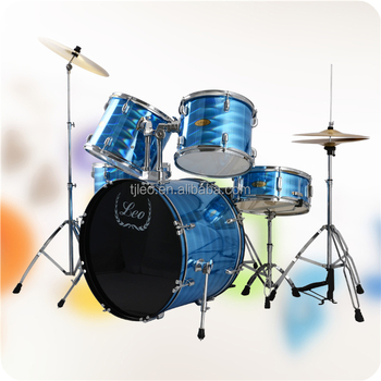 Laser light blue shine color Drum kit