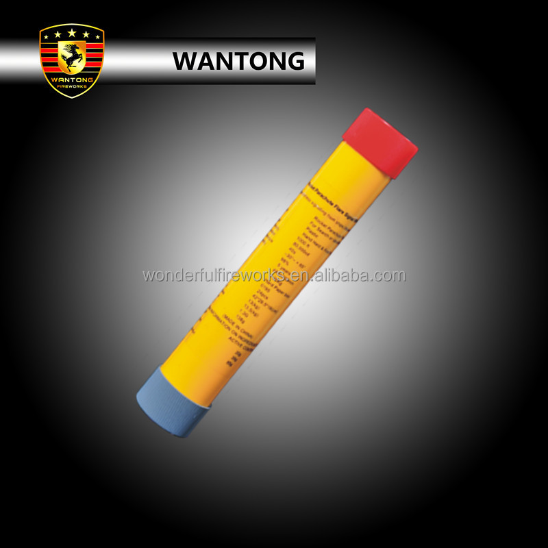 Rocket Parachute Red Flare Signal For Outdoor