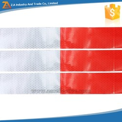 Red/White Retro Reflective DOT Conspicuity Tape Adhesive Tape
