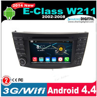 BNZ-7501GDA 7 inch capative touch screen for Mercedes Benz w211 Gps Navigation