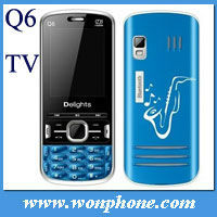 Cheapest TV Dual Sim GSM Chinese Phone Q6
