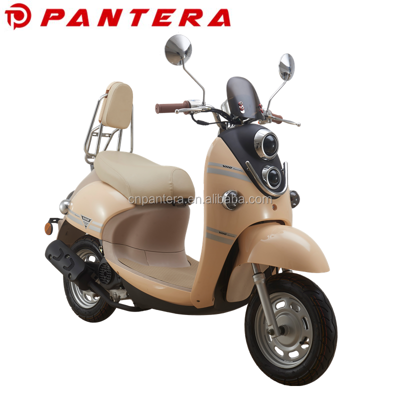 Chinese Hot Sale Mini Gas Adult Scooter Motorcycle 48cc Moped