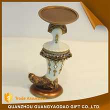 Hot china products wholesale resin factory produce high quality candle holder