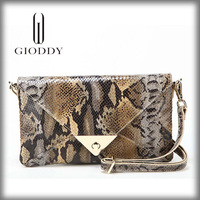 2014 new arrival and hot sell python leather handbags