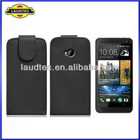 Leather Flip Case for HTC One M7,Flip Leather Case Cover for HTC One M7,2013 New 100% perfect fit----Laudtec