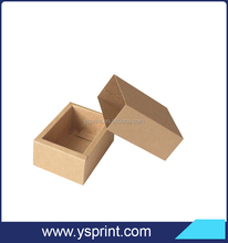 Kraft Drawer Box Handmade Soap Gift Craft Candy Cosmetic Bottle Packaging Brown Paper Boxes