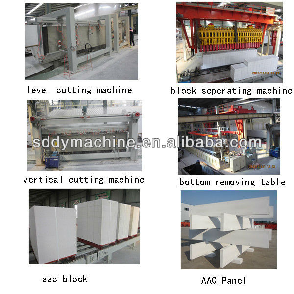 gas steam boiler autoclaved aerated light weight concrete production line price dongyue brand