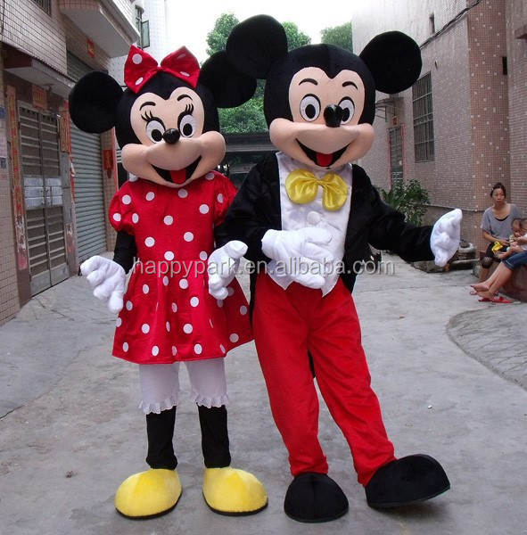 Minnie and mickey mouse costumes adults