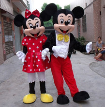 hot sale mickey and minnie mascot costume