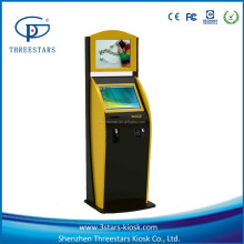 Automatic self service ordering payment kiosk machine/bill payment kiosk/Card Reader cash Payment