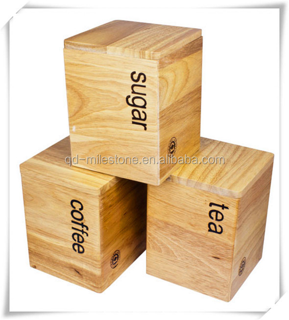 Hot New 15 30 70KG Wooden Coffee Bean container