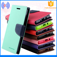 Flip Leather Case for Xiaomi M3, Goospery Mercury Fancy Diary Wallet Leather Phone Case