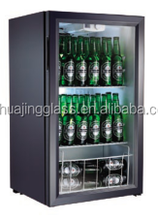Hot Sale Countertop Beverage Beer mini Showcase Refrigerator