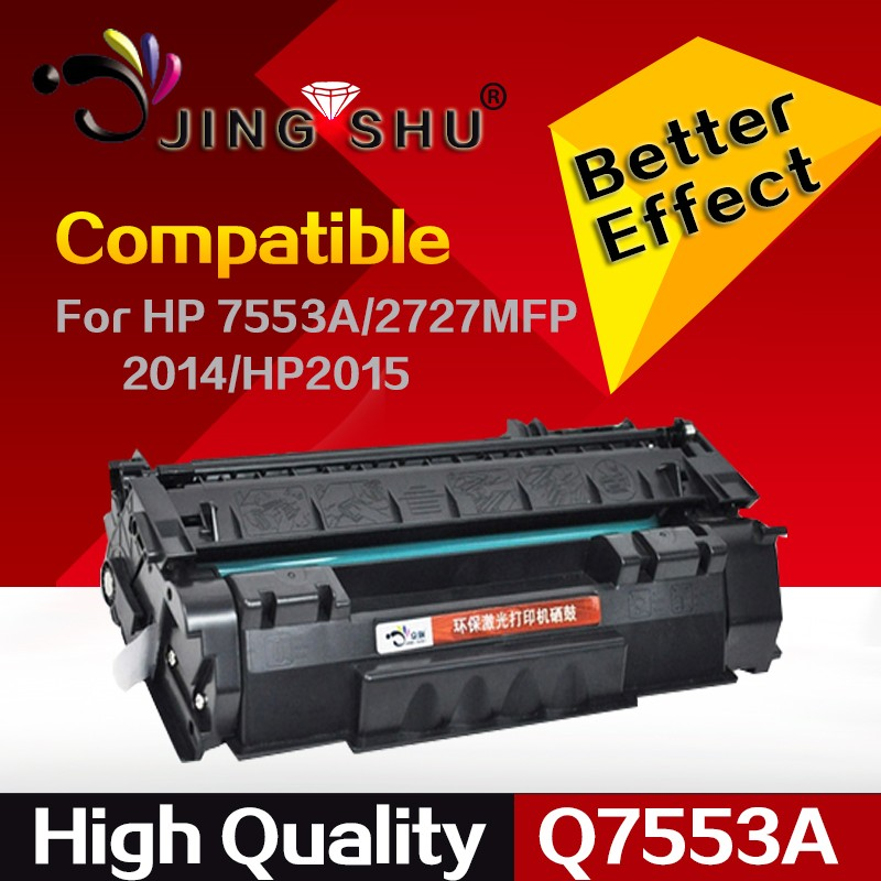 Q7553A Compatible Toner Cartridge 7553 for HP Laser Jet P2014 P2015 M2727MFP