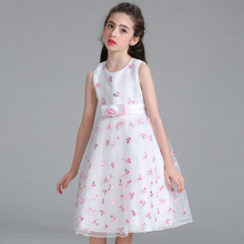 High quality new model children girls party dresses patterns latest frock designs for kids