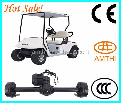 Powerful Motor with CE cruiser golf buggy golf cart rear axle electric golf cart motors Made in China,Amthi