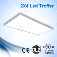 UL DLC listed 50W 60W dimmable 2x4 led panel light