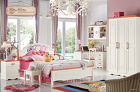 High quality cheap wooden children bedroom furniture sets for sale A8611