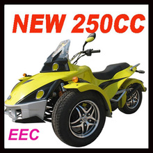 New 3 wheel cheap250cc trike motorcycle with eec