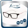 Latest fashion eyeglasses Sunny Europe men metal optical frames with acetate temples