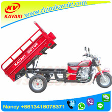China Zongshen 150cc Engine 1.2*1.7 carriage Petrol/ Gasoline cargo Tricycle