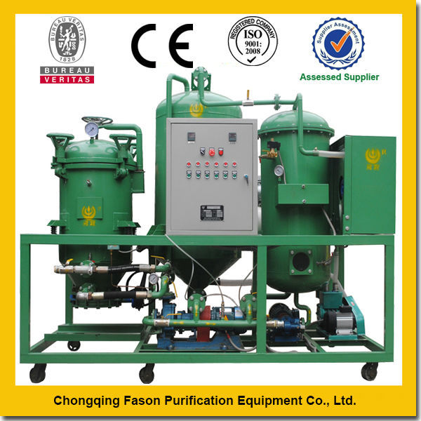 Double Control System Manufacture Supplier Energy Saving Pure Physical Oil Filter Machine And Price