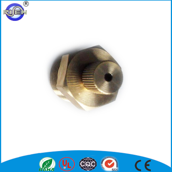 copper brass color male pipe heating air vent plug