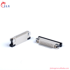 0.5mm 0.8mm 1.0mm 1.25mm pitch zif ffc fpc connector