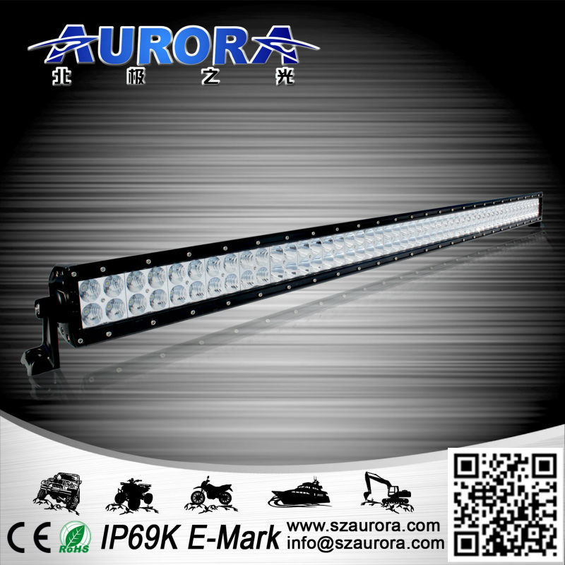Factory direct sell with diverse beam technology 50'' 500W daul row led light bar boat accessories