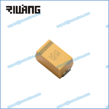 surface mount smd tantalum capacitor CA45L 106