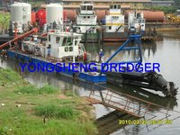 None self propelled Hydraulic cutter suction dredger factory