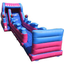 city park game long outdoor dragon inflatable slide