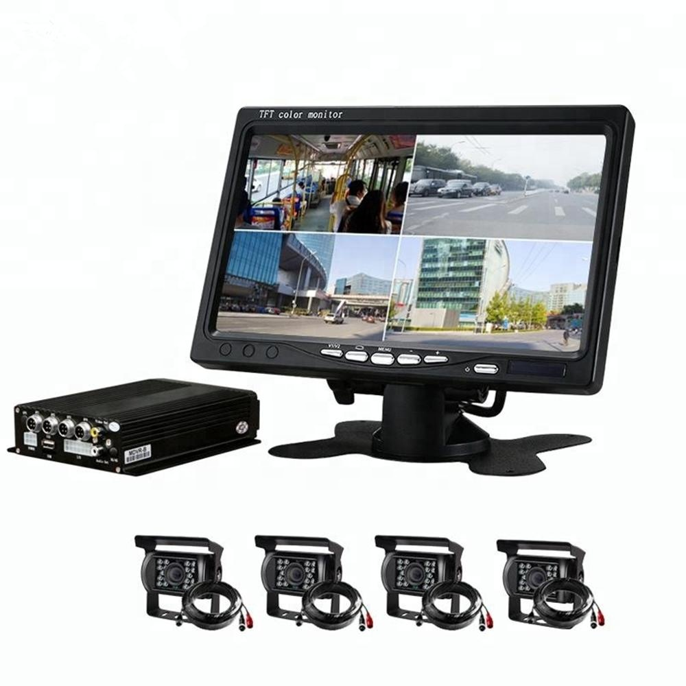 <strong>4CH</strong> Channel 1080P Mobile <strong>DVR</strong> Support 3G 4G WiFi GPS MDVR with Car/Bus/Truck/Vehicles Camera Recorder
