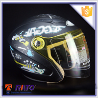 Cool matted black full face helmets for motorcycle on sale