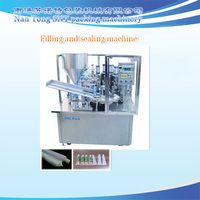 LGF-I Aluminum tube filling and sealing machine for ointment,viscosity