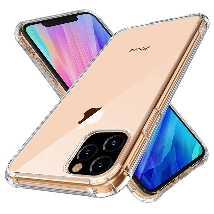 Amazon Hot Transparent Clear Shockproof TPU Bumper Phone <strong>Case</strong> Back Cover For New iPhone 11 XI 2019