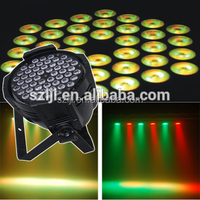 Hot sale indoor 54*3w RGBW stage lighting effect DJ lights led par light