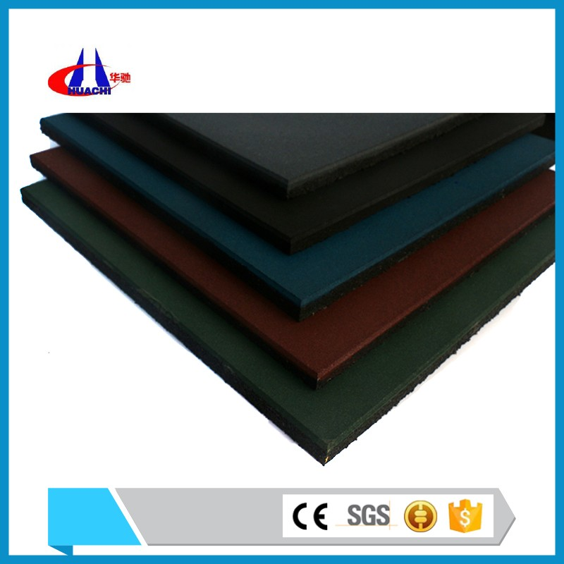 New product 20mm thickness rubber floor mat anti-slip floor paint for basketball court