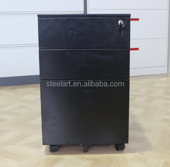 Mobile with drawer hair color cabinets for steel material