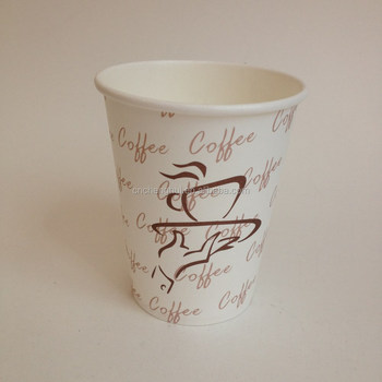 6.5oz new year design povide best price and good quality paper cup blank for hot drink made in China