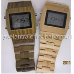new arrival fashion custom wood watches water resistant bamboo wooden watch