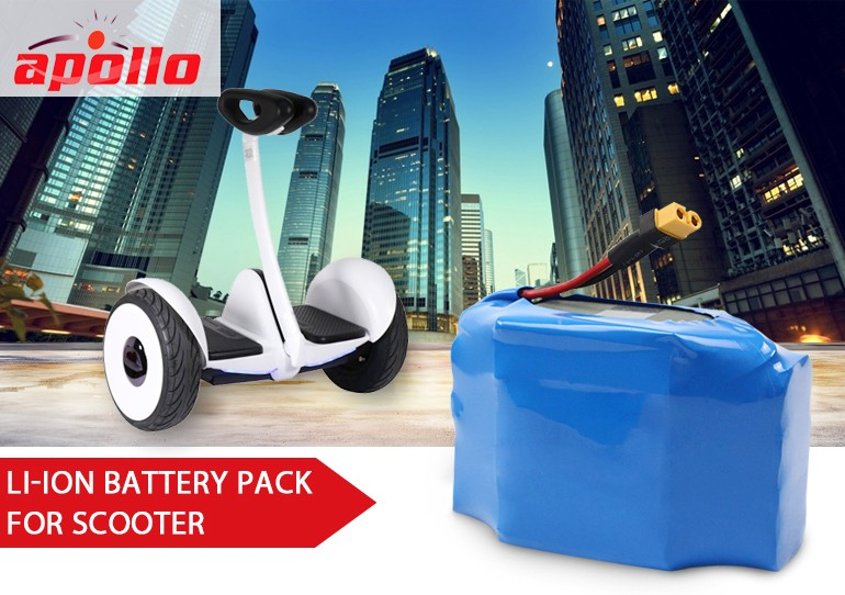 2.6Ah 2600mah 60V battery pack for airwheel scooter