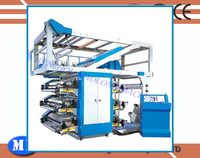 All Automatic Little Error Eight Color High Speed Flexo Printing Machine