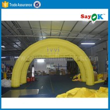 giant outdoot inflatable car garage shelter arch air tent inflatable lawn tent for sale