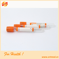 blood samples tube, vaccum blood tube, red cap blood test tube