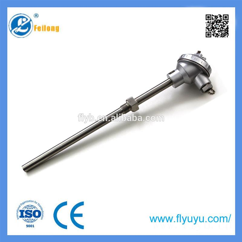 Industrial quality high temperature 1300c k type thermocouple for power station k-type temperature probe