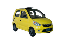 Family travel electric car mini small sightseeing electric car